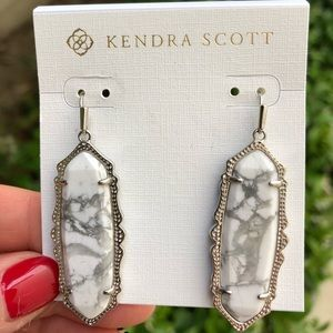 Kendra Scott Howlite Francine Earrings